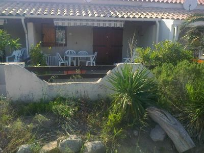 Photo for GRUISSAN the ayguades Villa 50 m from the beach, 1 to 6 pers; Terrace: 30 m2,