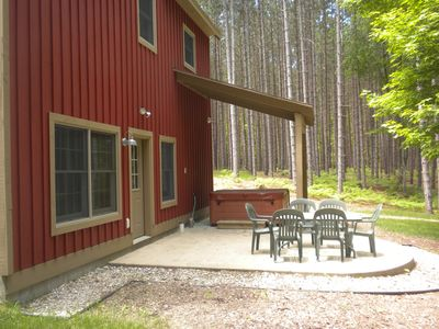 Rear of Cottage, Patio Area