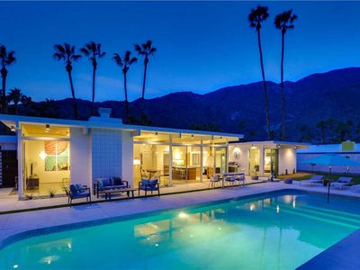 Photo for Palm Springs Regal Contemporary: 4 BR / 3 BA home in Palm Springs, Sleeps 8