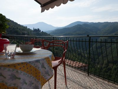 Photo for Bright apartment with a large, quiet terrace.  Wi-Fi everywhere in the village.