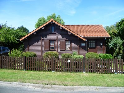 Photo for Cozy Swedish log cabin, a few min. From the beach, dogs welcome