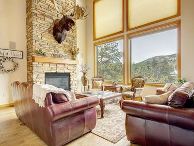Photo for Secluded & Spacious Mountain Getaway