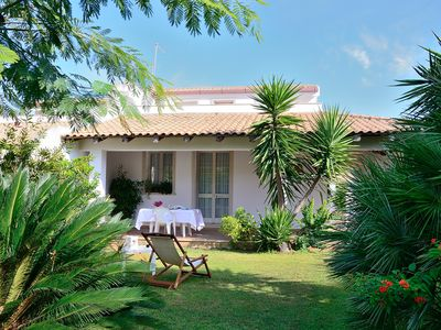 Photo for SUN VILLA WITH DIRECT ACCESS TO THE FINISH SAND BEACH AND THE SEA