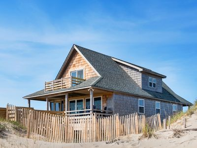 Photo for Moon Rider: Oceanfront, classic cottage style with 3 bedrooms and ocean views!