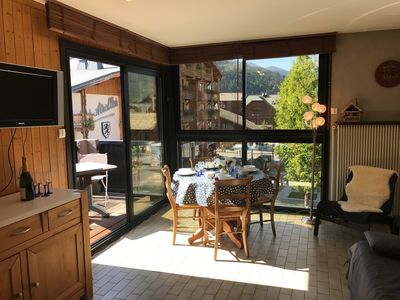 Photo for DUPLEX OF TWO ROOMS IDEAL LOCATION IN THE HEART OF MORZINE
