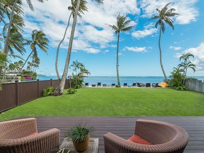 Photo for Luxurious Honolulu Home | Pool | Spa | Beachfront | Dock | Christmas $4500