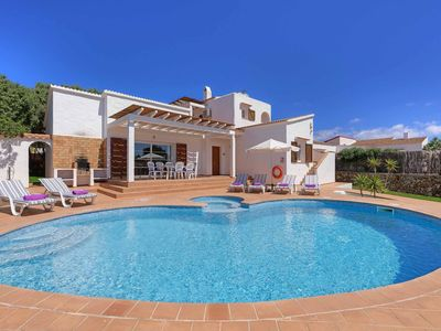 Photo for Villa Karina - detached villa with 10m private pool, Wi-Fi & A/C -close to shops