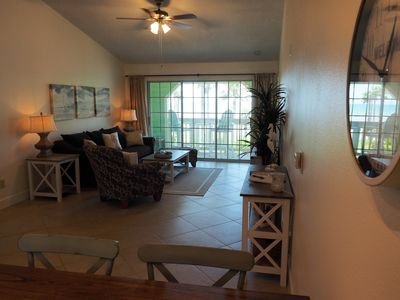 """Photo for Spectacular beach view Condo at Babe's beach in resort style """"The Dawn"""" Complex"""