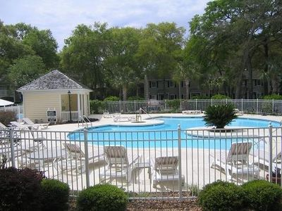 Photo for N2 Ocean Walk Resort  is a three bedroom townhome.  Large porch off of the living area, nice back yard area.  King, Queen and two twin beds.  Across from back pool.