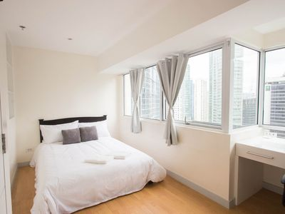 Photo for Minimalistic 2BR Duplex w/ BGC View+WIFI