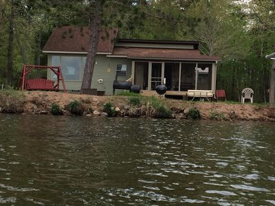 Photo for Charming Cottage Situated Steps From Lac Courte Orielles