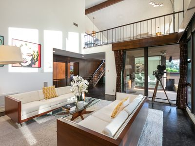 Photo for 4BR Estate w/ Mid-Century Glam - Pool, Views & Home Theater