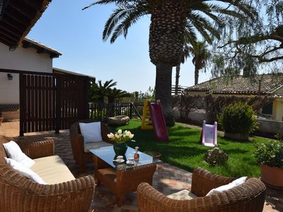 Photo for Villa Rebecca White 300 meters from the sea with swimming pool and jacuzzi
