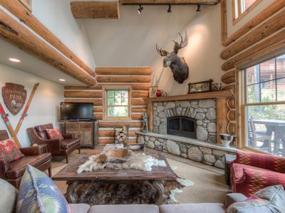 Photo for BSVR Quiet Private Cabin In The Woods, Cozy High End Interiors With Hot Tub!