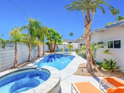 Photo for Mid-Mod Getaway w/ Private Pool, Spa & Casita - 15-Minutes to Downtown