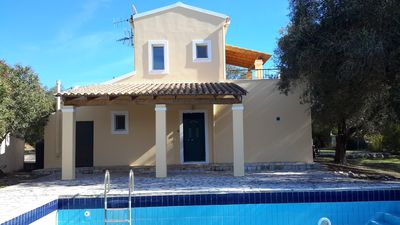 Photo for Private 3 bed villa with pool, tranquil but close to all your holiday needs.