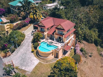 Photo for La Jolie..Luxury home with infinity pool, jacuzzi and spectacular ocean view.