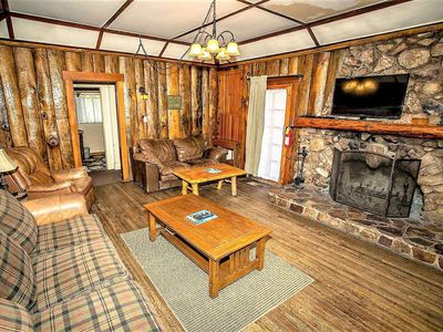 Photo for LODGE HOUSE~Furnished Family Cabin~Walk To Lake & Town~