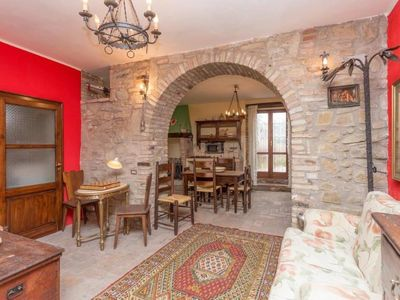Photo for Pretty stone house in the castle of S.Apollinare XI Cent. discount 10% listprice