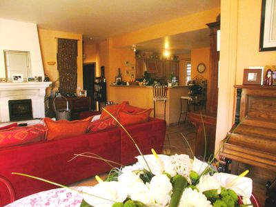 Photo for SPACIOUS T3 90 M ² + TERRACE 40 M ² + SWIMMING POOL