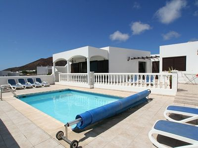 Photo for LUXURY 4 BEDROOM  'VILLA OCASO' WITH FULLY HEATED POOL & CHILD GATES