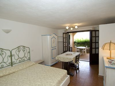 Photo for CR 137_Apartment, surrounded by greenery, with view and swimming pool.