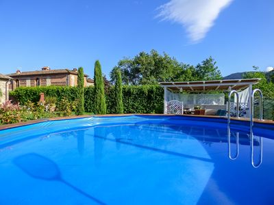 Photo for Serena - typical Tuscan setting. Small private pool. Walk to pizzeria. Free WIFI