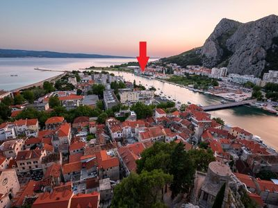 Photo for Holiday apartment Omiš for 2 - 4 persons with 1 bedroom - Holiday apartment