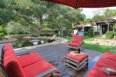 Plenty of outdoor space at Mission Canyon to relax
