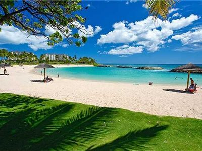 Photo for Ko'Olina, a Luxurious and Private House on the Golf Course and Across the Beach