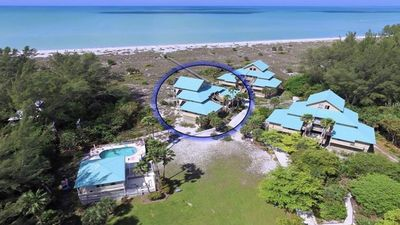 Photo for Stunning Beachfront Island Getaway..Pool and Ferry Service included!
