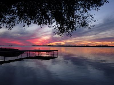 Photo for Duclos Point Lakefront Private Property w Breathtaking Sunsets