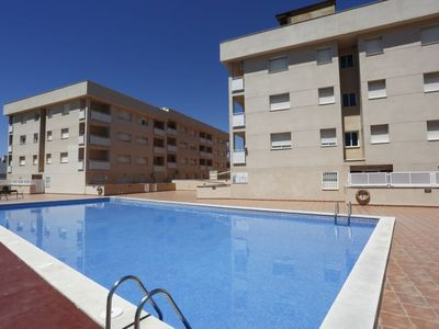 Photo for Miami Platja Apartment, Sleeps 6 with Pool and Air Con