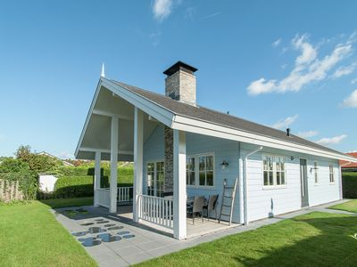 Photo for Comfortable detached house in a quiet, car-free holiday park near the North Sea