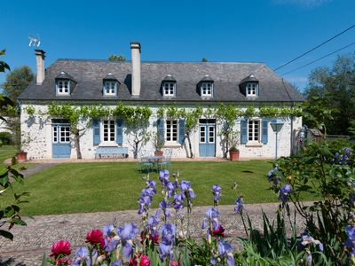 Photo for In a green setting, charming Béarnaise house with a stable