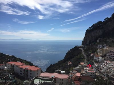 Photo for Amalfi Casa Bianca with terrace and sea view