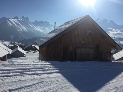 Photo for Chalet at the foot of the slopes - Les Sybelles