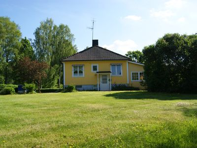 Photo for Nice holiday home with large plot in Lönneberga (Smaland) for rent