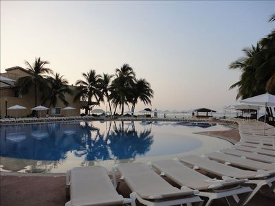 Photo for Beautiful Beachfront Villa/ Tesoro Ixtapa