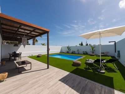 Photo for Vacation home Villa with Pool Playa Blanca in Playa Blanca - 6 persons, 3 bedrooms