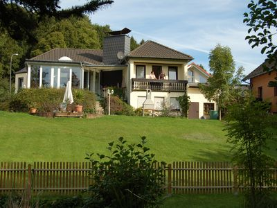 Photo for Eifel Holiday home Christine in a quiet location, 4 stars, large garden with pond
