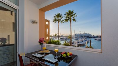 Photo for 1 BEDROOM LUXURY APARTMENT-WATER FRONT MARINA OF VILAMOURA