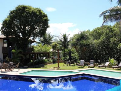 Photo for Gated community, pool, sauna, near beach, 3 bedrooms and full kitchen