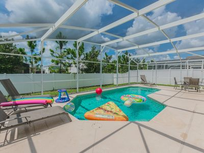 Photo for Deluxe Pet Friendly Home, south facing pool, 4460