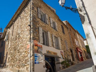 Photo for Village house - historic center of Grimaud