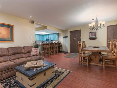 Photo for Ski in/ ski out condo at Giant Steps! - Game Room w/Large Hot Tub - Walking distance to shops, resta