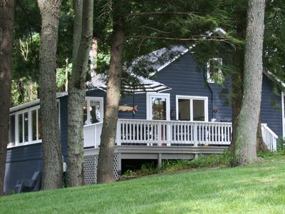 Photo for Brower Cottage - Lakefront Secluded Wooded Lot on Hutchins Lake Near Saugatuck