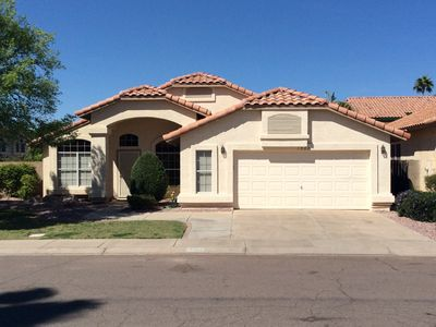 Photo for 4 bedroom Home in Gilbert, Val Vista Lakes master planned  community, Sleeps 8-1