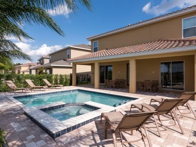 """Photo for """"Picture This... Villa Holiday to Kissimmee With all Your Family Together"""", Orlando Villa 1596"""