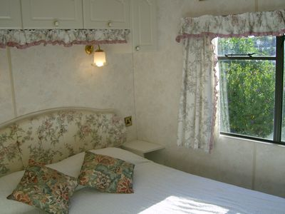 Photo for Mobile home on rural smallholding, 3km from beaches and amenities